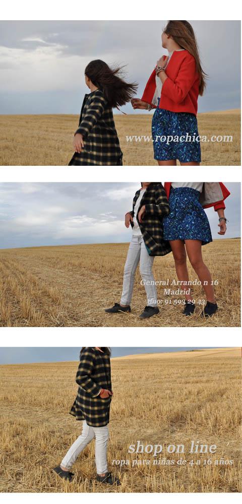 Ropa de niñas chicas nueva colección otoño invierno Ropachica